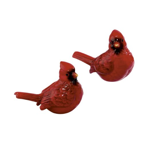 Virginia Red Bird Cardinals S/P Salt & Pepper Shakers