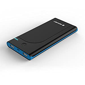 TeckNet® Power Bank 10000mAh Fast Portable Charger Battery Pack USB External Battery Power Bank With Portable Mobile phone charger (Dual 5V 3.1A Output) for Apple iPhone 6 Plus 5S 5C 5 4S, iPad Air 2 Mini 3, Samsung Galaxy S5 S4 Note Tab, Nexus, HTC, Motorola, Nokia, PS Vita, Gopro, more Phones and Tablets