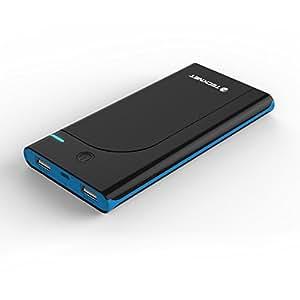 TeckNet® PowerZen iEP1000 ultra-mince 10000mAh Batterie Externe munie de; 2 Ports de Sorties 3.1A Chargeur Portable pour Apple iPhone 6 Plus, iPad Mini, iPad Air, Samsung Galaxy S5 et D'autres Smartphones, Tablettes Android (Tablette ou téléphones ne sont pas inclus)