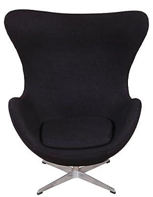 MLF Arne Jacobsen Egg Chair in Premium Wool Fabric von DIFOE auf Gartenmöbel von Du und Dein Garten
