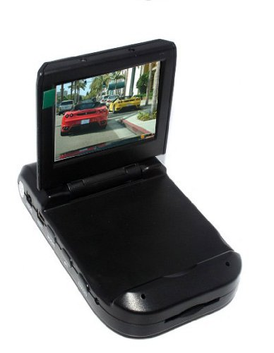 """SainSpeed 4-LED Car Dash DVR With Night Vision, 2.5"""" TFT LCD Screen Display, Microphone Inside"""