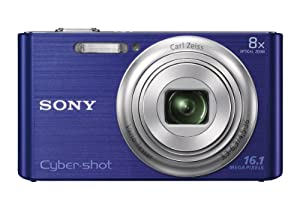 Sony DSC-W730/L 16.1 MP Digital Camera with 2.7-Inch LCD (Blue)