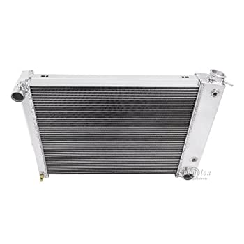 Champion 3 Row All Aluminum DR Radiator For 2005-10 Ford Mustang