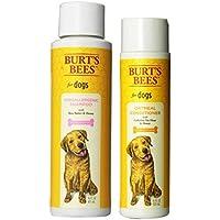 Burt's Bees For Dogs Sensitive Skin Shampoo & Conditioner Bundle: (1) Burt's Bees Hypoallergenic Shampoo With...