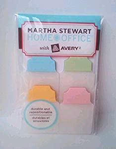 Martha Stewart Home Office with Avery, NoteTabs (40 Pack)