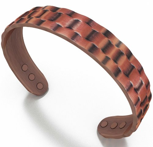 MEN'S HEAVYWEIGHT COPPER MAGNETIC BRACELET -