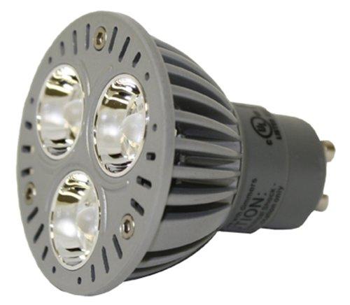 4 Qty. Led 4Watt Par16 Red Gu10 120V Lamp Bulb Led4Par16/Gu10/R/Nfl20