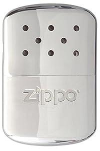 Zippo 12-Hour Hand Warmer, Chrome Silver