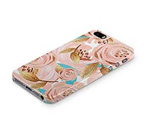 Cover Affair Floral / Flowers Printed Back Cover Case for Apple iPhone SE