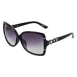 Zyaden Brown Oversized Sunglasses Women 174