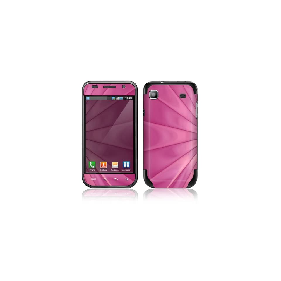 Pink Lines Decorative Skin Cover Decal Sticker for Samsung Vibrant SGH T959 Cell Phone