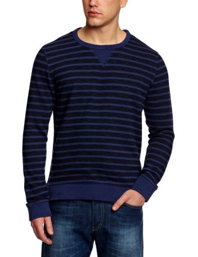 Cottonfield Ruepen Yd Men's Top Sweatshirt Dark Blue/Blue Medium