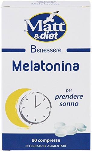 Matt&Diet Melatonina - 7 gr