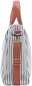 Diaper Bag by Elibag - Designer Weekender Tote, Cute French Stripe Baby Organizer from Elibag
