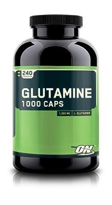 Optimum Nutrition Glutamine 1000mg 240 Capsules