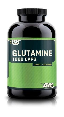 Optimum Nutrition Glutamine Capsules, 1000mg, 240 Count