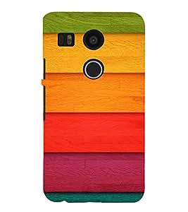 Fuson 3D Designer Back Case Cover For LG Nexus 5X