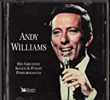 ANDY WILLIAMS READERS DIGEST ANDY WILLIAMS HIS GREATEST SONGS & FINEST PERFORMANCES (3 CD BOXSET) 60 TRACKS