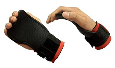 Meteor Gel Weight Lifting Training Gym Grips Straps Gloves training gloves Power Grips from Meteor