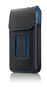 Belkin Verve Cinema Leather Case for iPhone 4 - Black and Blue from Belkin