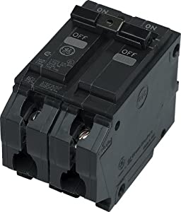General Electric THQL2120 Circuit Breaker, 2-Pole 20-Amp Thick Series