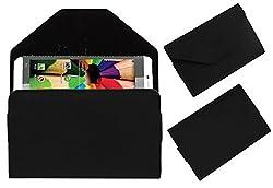 Acm Premium Pouch Case For Digimac Vivo 2x Flip Flap Cover Holder Black