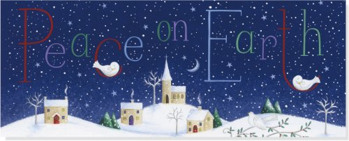 Peace on Earth Panoramic Boxed Holiday Cards (Christmas Cards, Holiday Cards, Greeting Cards)