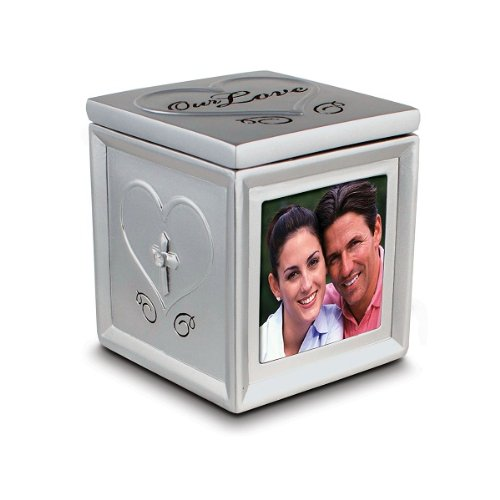 Our Love Photo and Keepsake Box - 1 Corinthians 13:4 - 1