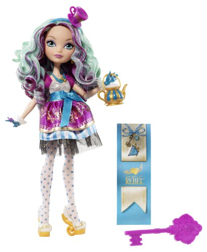Mattel BFW95 - Bambolina Ever After High Madeline Hatter [Importata dalla Germania]