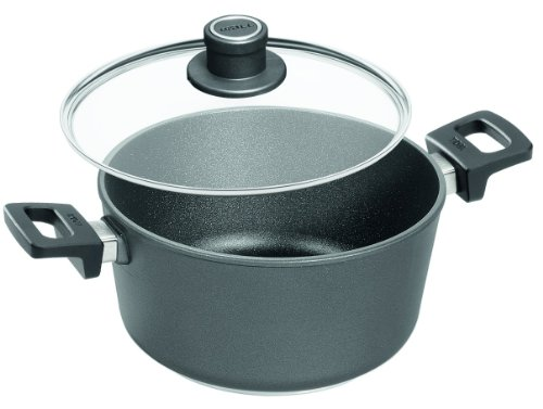 Woll Nowo Titanium 4-3/4-Quart Saucepan with Detachable Handle and Lid