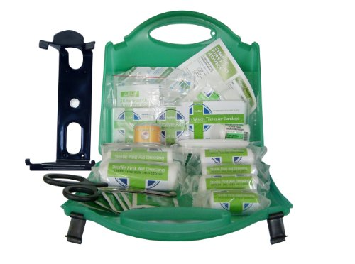 BS-8599 Work Place First Aid Kit Medium 25 to 100 Persons. Including Free Wall Mounting Bracket