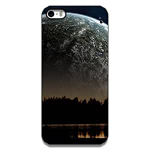 Mott2 Moon Night Back cover for Apple 5s (Limited Time Offers,Please Check the Details Below)