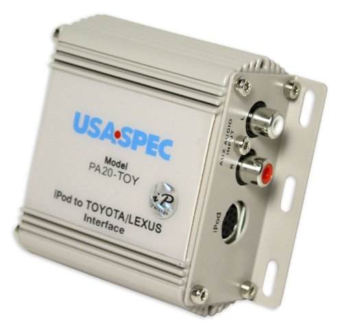 Brand New Usa Spec Pa20-toy 1998-2008 Toyota/lexus/acura Ipod / Iphone Interface + Aux Input