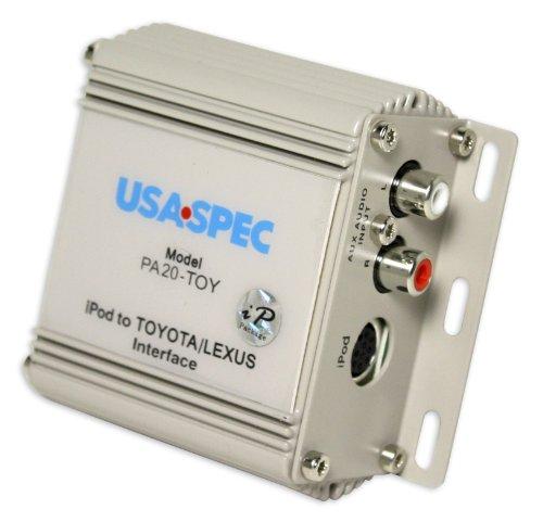 Brand New Usa Spec Pa20-toy 1998-2008 Toyota/lexus/acura Ipod / Iphone Interface + Aux Input