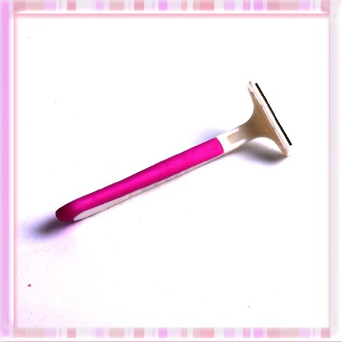 Safety Purple-pink Body Hair Shaver Shaper Razors Blade For Lady Professional B0233