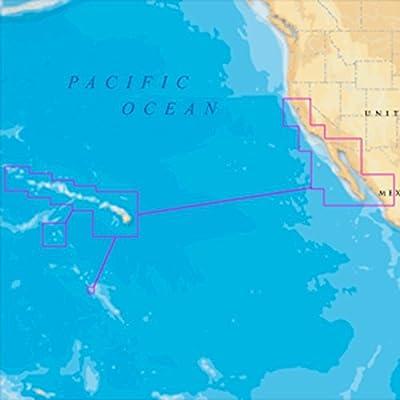 Navionics MSD/644P+ Platinum + Hawaii California South to Baja microSD/SD Consumer Electronics by Navionics