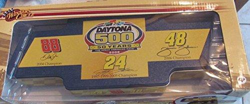 Nascar Winners Circle Daytona 500 50 Years Commemorative Four Car Set