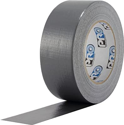 "ProTapes Pro Duct 100 PE-Coated Cloth Economy Duct Tape, 60 yds Length x 2"" Width, Silver (Pack of 1)"