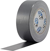 ProTapes Pro Duct 100 PE-Coated Cloth Economy Duct Tape, 60 yds Length x 2