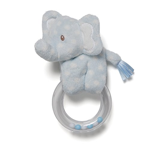 Gund Baby Lolly Baby Ring Rattle, Elephant