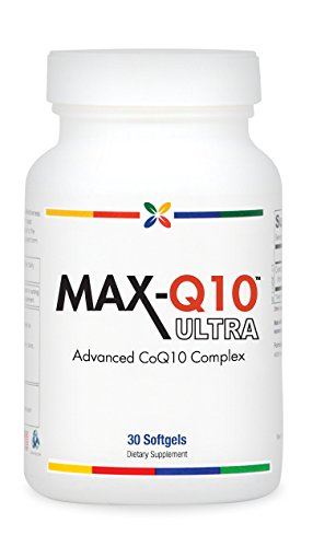 Max-Q10 Ultra Coq10 Complex | 30 Softgels. Made In Usa (1 Pack)
