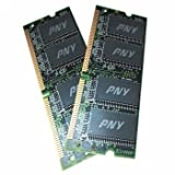 PNY memory - 4 GB : 2 x 2 GB - SO DIMM 204-pin - DDR3