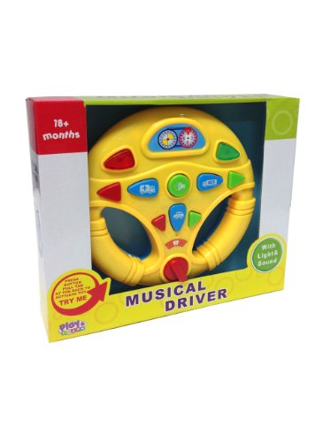 Musical Baby Play and Learn Toy Driver with Lights and Sounds