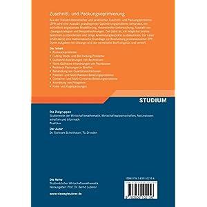 Zuschnitt- und Packungsoptimierung: Problemstellungen, Modellierungstechniken, Lösungsmethoden (Stu