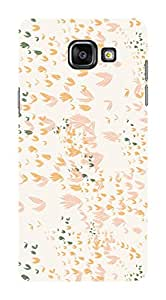 Koveru Back Cover Case for Samsung Galaxy A5-2016 - Light colour Pattern