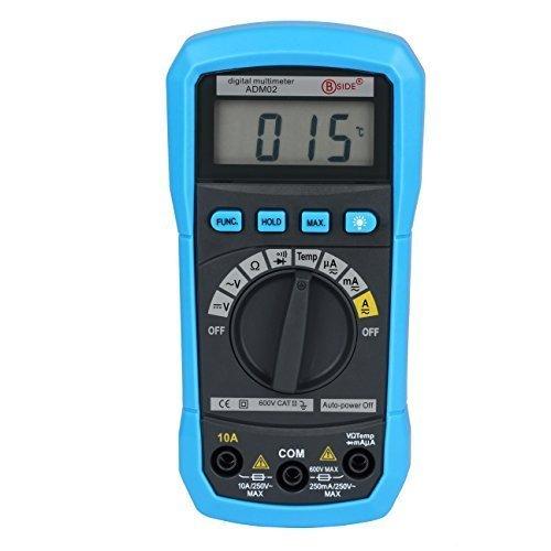 Bside-ADM02-Auto-Ranging-Digital-Multimeter-DMM-DC-AC-Voltage-Current-Temp-Meter-Tester