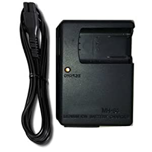 Cutekindservice Camera Battery Charger for Nikon MH-64 EN-EL11 Coolpix S550 S560 Pentax D-L178