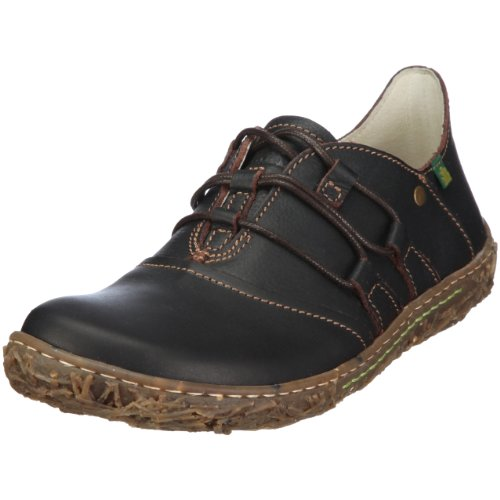 El Naturalista Women's N720 Comfort Lace Up Brown 3 UK