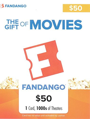 Fandango $50 Gift Card (Amc Theaters compare prices)
