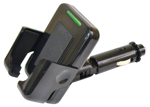 Custom Accessories 10904 I-Xt Holder With 12V Usb Plug-In For Phone/Ipod